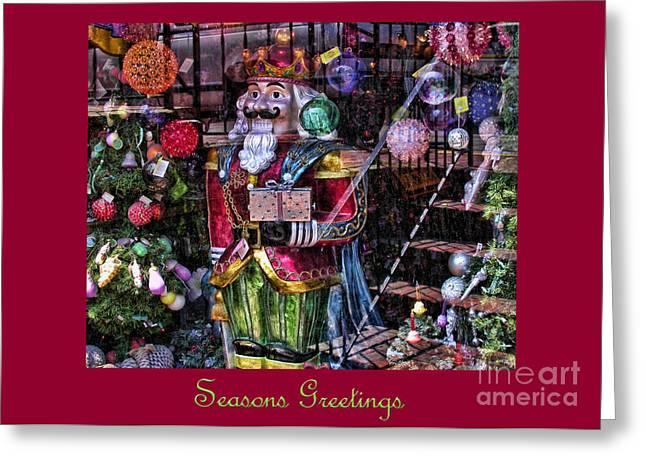 Chrismas Greeting Cards - Christmas Card 1 Greeting Card by Edward Sobuta