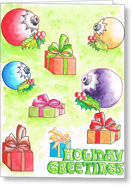 Tarjetas Greeting Cards - Christmas-card Greeting Card by Carlos G Groppa