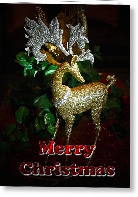 Christmas Greeting Photographs Greeting Cards - Christmas Card Greeting Card by Chris Brannen