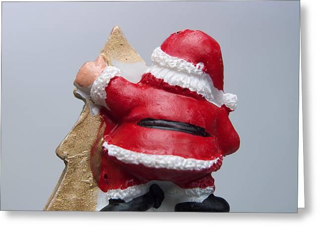 Christmas decoration  Greeting Card by BERNARD JAUBERT