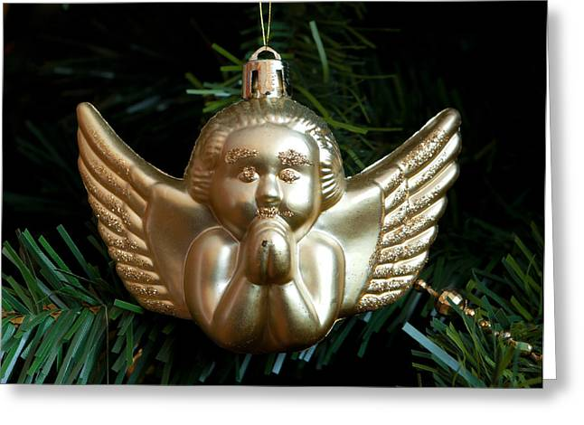 Angel Delight Greeting Cards - Christmas Decoration Greeting Card by Hans Engbers