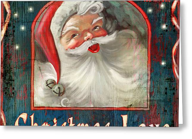 Christmas love Greeting Card by Joel Payne