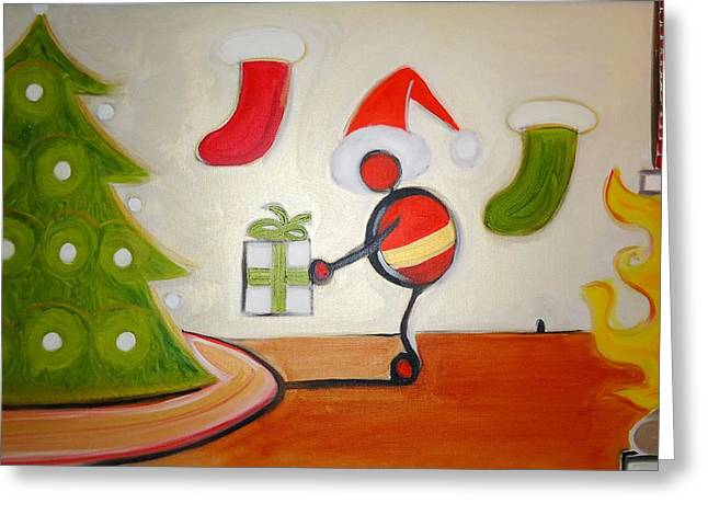 Cory Green Greeting Cards - Christmas Spirit Greeting Card by Cory Green