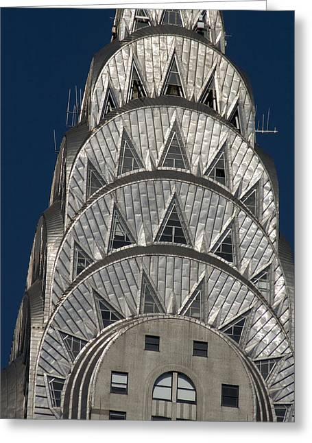 Chrysler Building - New York Greeting Card by Martin Cameron