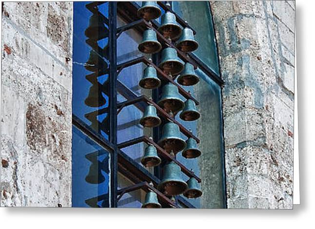 Church bells Greeting Card by Shirley Mitchell