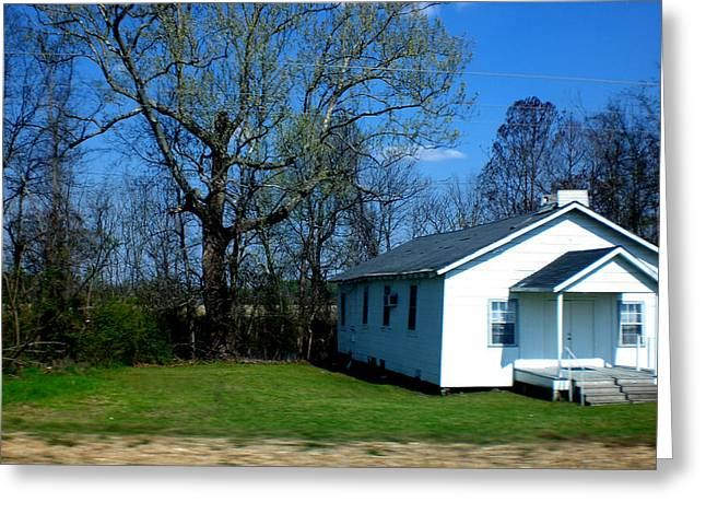 Best Sellers -  - Toy Shop Greeting Cards - Church Highway 61 Greeting Card by Doug  Duffey