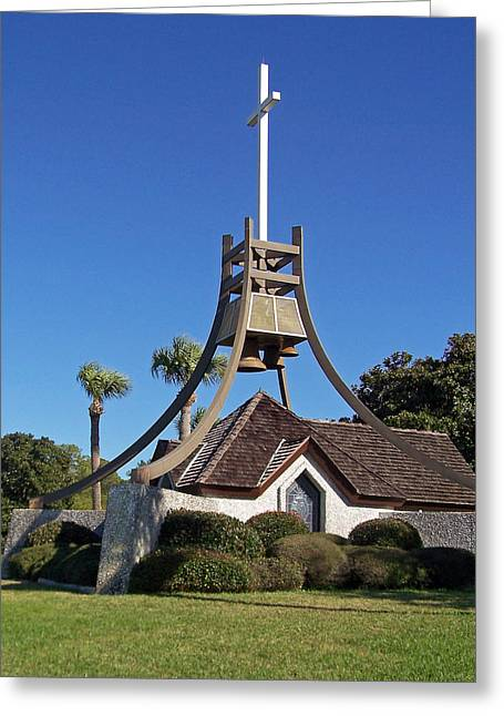 Patricia Taylor Greeting Cards - Church in the Glynn Greeting Card by Patricia Taylor