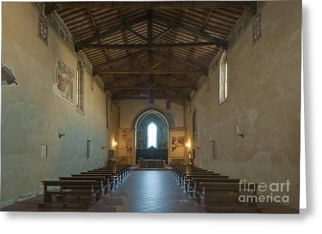 San Francesco Greeting Cards - Church of San Francesco Greeting Card by Rob Tilley