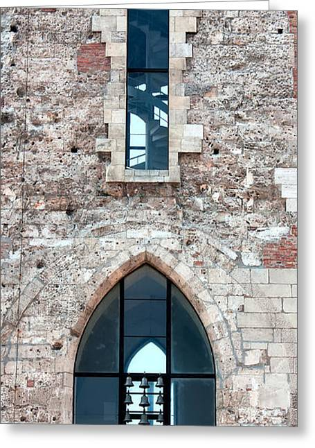 St Mary Magdalene Photographs Greeting Cards - Church Windows Greeting Card by Shirley Mitchell