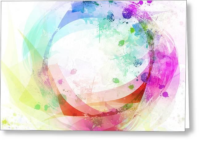 circle of life Greeting Card by Setsiri Silapasuwanchai