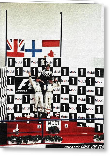 Canadian Grand Prix Greeting Cards - Circuito de Jerez 1997 Greeting Card by Juergen Weiss