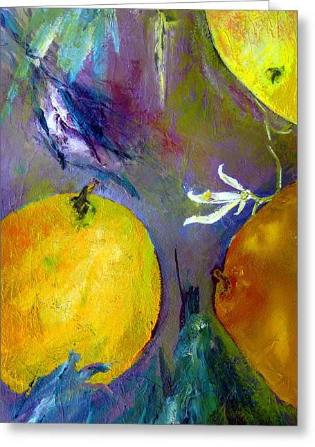 Citrus 3 Greeting Card by Beverly  Koski