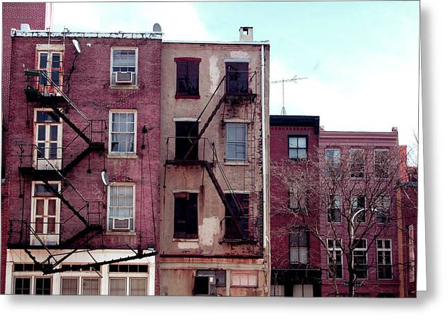 City Block Philly Greeting Card by Jame Hayes