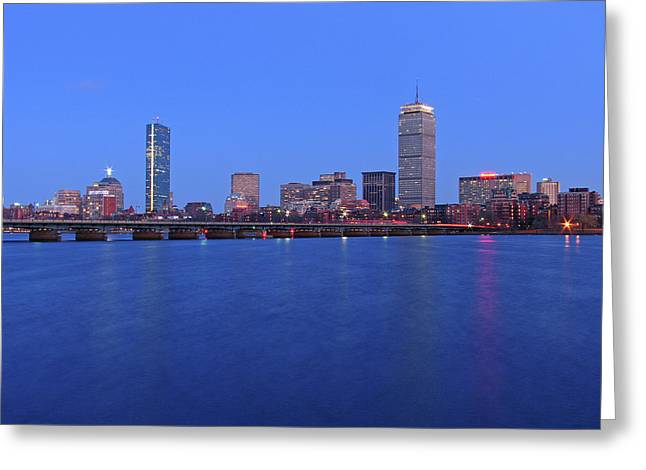 Boston Pictures Greeting Cards - City Dreams Greeting Card by Juergen Roth