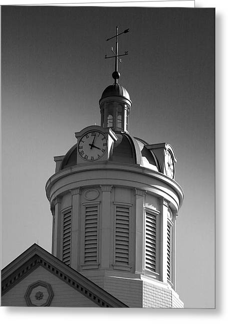 Indiana Photography Greeting Cards - City Hall Dome II Greeting Card by Steven Ainsworth