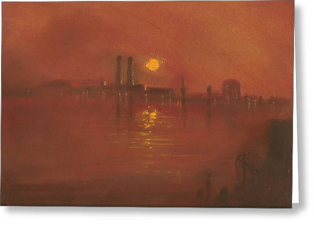 City Mist 3 Greeting Card by Paul Mitchell