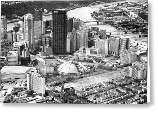 Allegheny Greeting Cards - City of Champions Greeting Card by Emmanuel Panagiotakis
