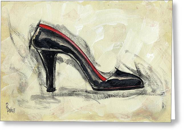 High Heels Greeting Cards - City Slick Greeting Card by Richard De Wolfe