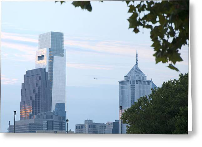 Liberty Place Greeting Cards - City Views - Philadelphia Greeting Card by Bill Cannon