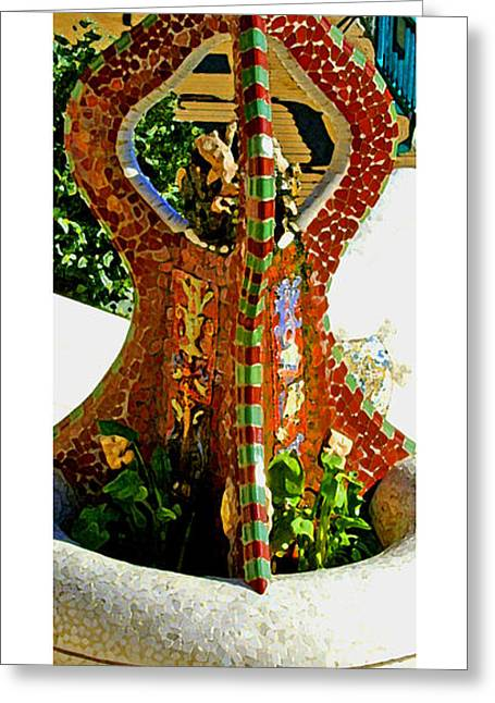 Roberto Greeting Cards - Citymarks Barcelona Greeting Card by Roberto Alamino