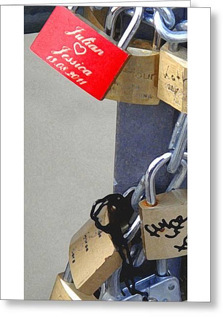 Citymarks Greeting Cards - Citymarks Frankfurt Greeting Card by Roberto Alamino