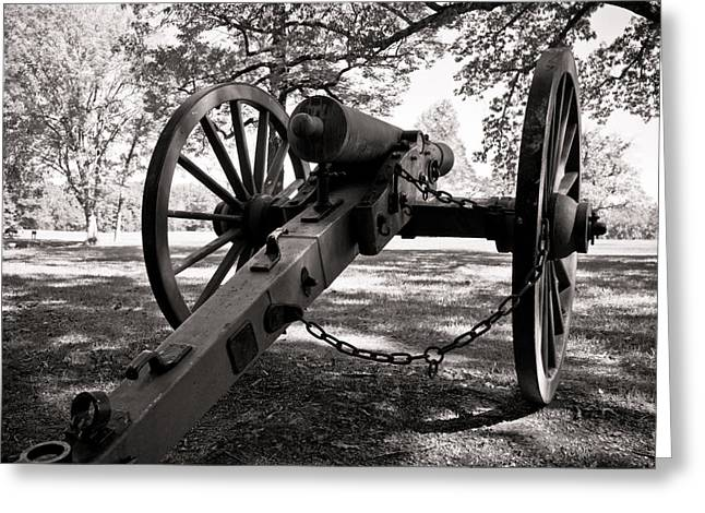Tn Greeting Cards - Civil War Cannon Greeting Card by Edward Myers