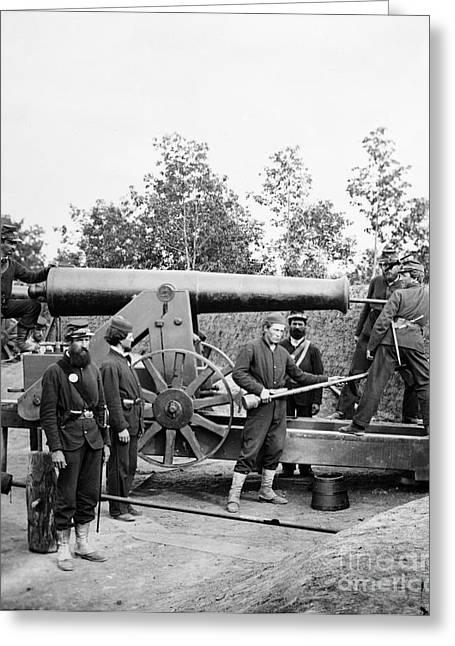 Woodbury Greeting Cards - Civil War: Fort Woodbury Greeting Card by Granger