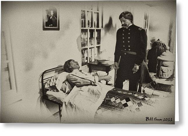 Civil War Hospital Greeting Card by Bill Cannon