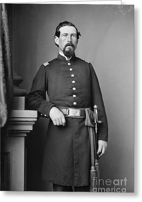 Pennsylvania Photographs Greeting Cards - CIVIL WAR MAJOR, c1865 Greeting Card by Granger