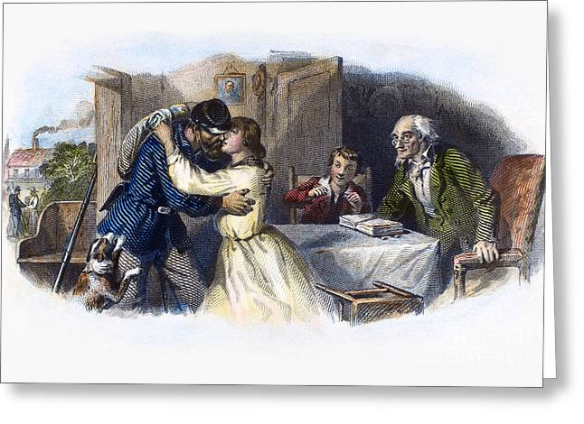 House Pet Greeting Cards - Civil War: Returning Home Greeting Card by Granger