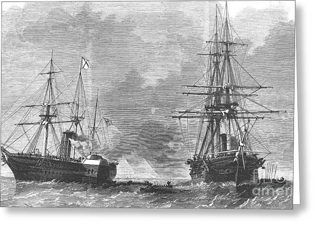 Trent Greeting Cards - Civil War: Trent Affair, 1861 Greeting Card by Granger