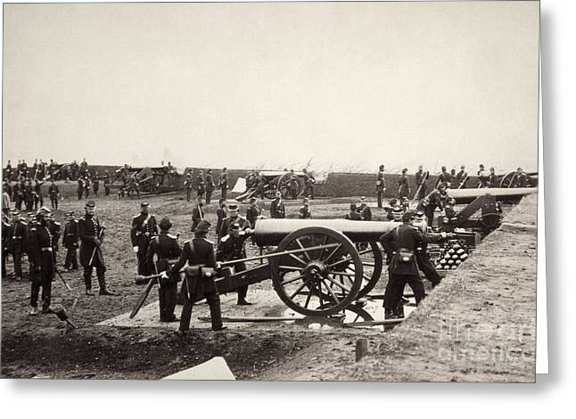 Union Connecticut Greeting Cards - Civil War: Union Fort Greeting Card by Granger