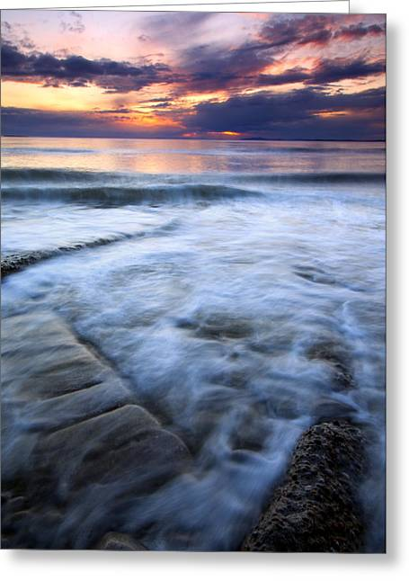 Pilings Greeting Cards - Civilization Forgotten Greeting Card by Mike  Dawson