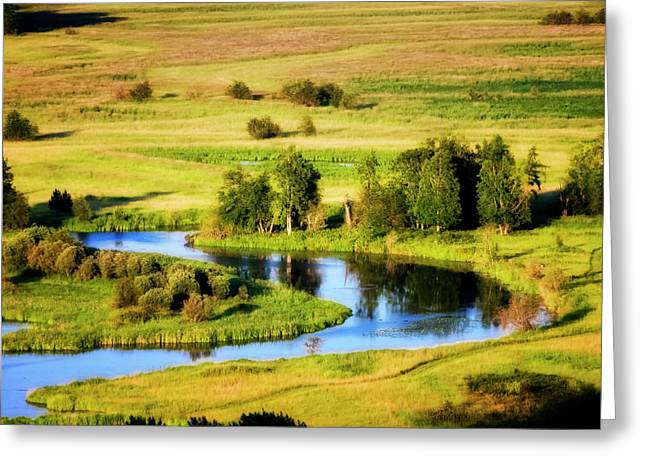 North Fork Greeting Cards - Clark Fork Delta  Greeting Card by Albert Seger