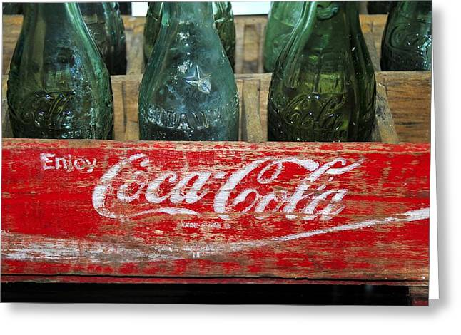 Cola Greeting Cards - Classic Coke Greeting Card by David Lee Thompson