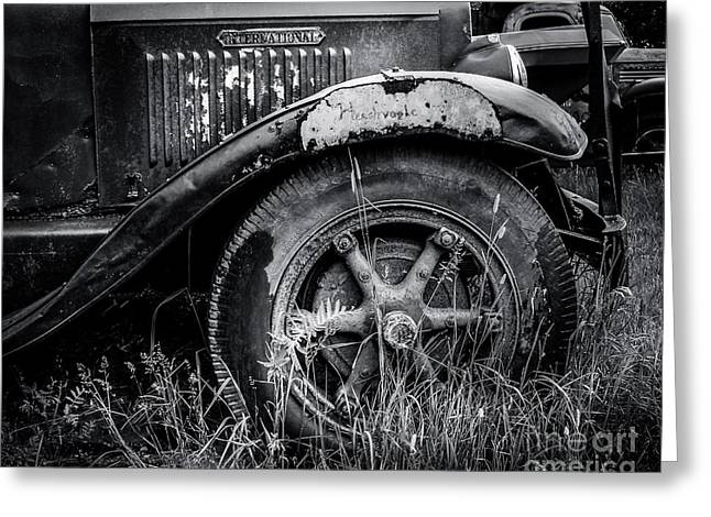 Old Truck Photography Greeting Cards - Classic International Greeting Card by Perry Webster