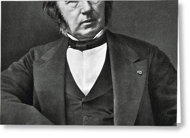 Claude Bernard, French Physiologist Greeting Card by Photo Researchers