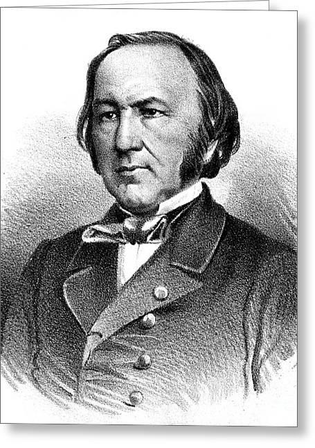 Objectivity Greeting Cards - Claude Bernard, French Physiologist Greeting Card by Science Source