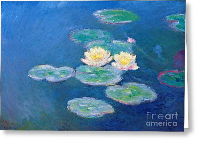 Claude Monet Nympheas 1907 Greeting Card by Pg Reproductions
