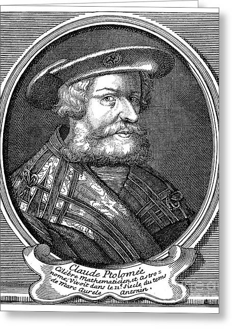 Claudius Greeting Cards - Claudius Ptolemaeus Ptolemy Greeting Card by Granger