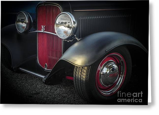 Tricked-out Cars Greeting Cards - Clean Rod Greeting Card by Chuck Re