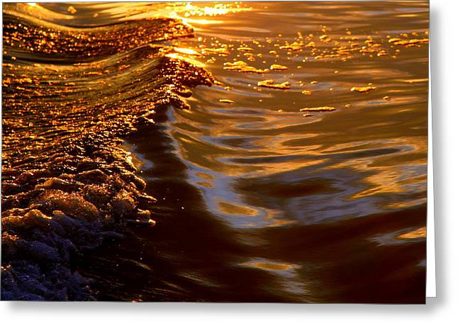 Golden Pond Greeting Cards - CLEANSING the SOUL Greeting Card by Karen Wiles