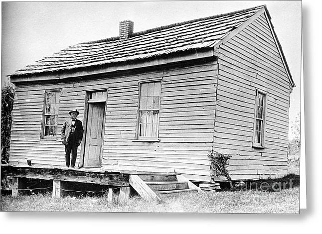 Florida House Greeting Cards - Clemens: Birthplace Greeting Card by Granger