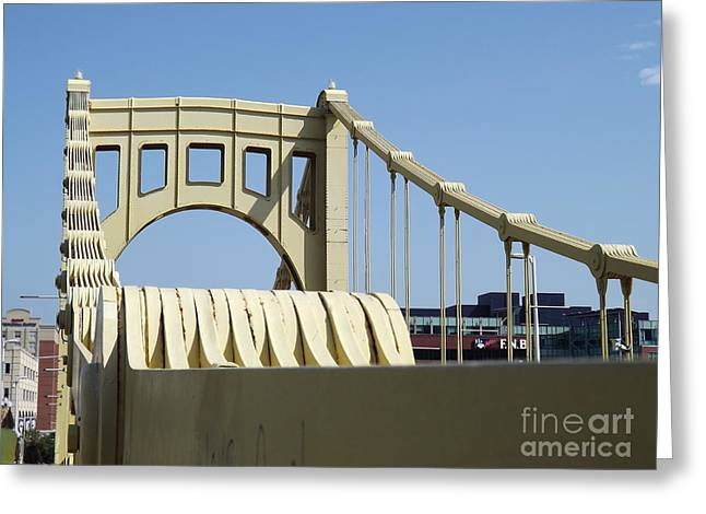 Roberto Greeting Cards - Clemente Bridge Greeting Card by Chad Thompson