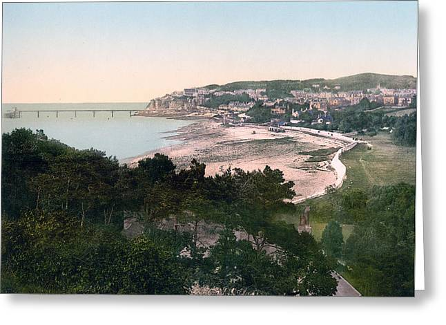 Clevedon Greeting Cards - Clevedon - England Greeting Card by International  Images