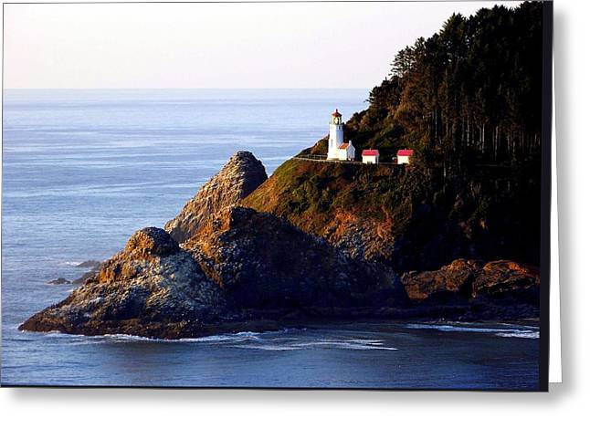 Cliff Dwellers Greeting Card by Karen Wiles