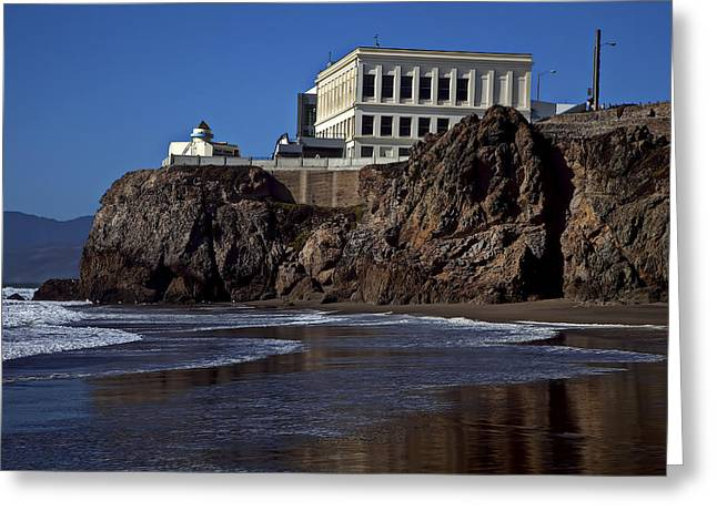 Cliffs Photographs Greeting Cards - Cliff House San Francisco Greeting Card by Garry Gay