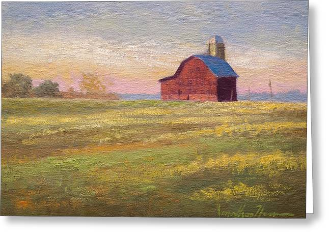 Jonathan Howe Greeting Cards - Close to Home Greeting Card by Jonathan Howe