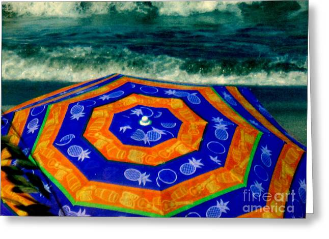 Close To The Ocean Greeting Card by Susanne Van Hulst