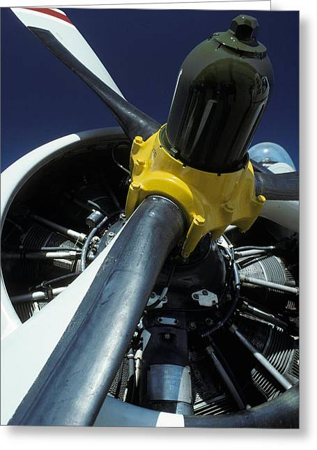Tracker Greeting Cards - Closeup Of A Military Grumman Tracker Greeting Card by Jason Edwards